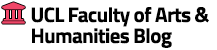 UCL Faculty of Arts & Humanities Blog logo